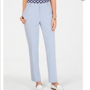 Charter Club Trousers 12 Light Blue Work NEW